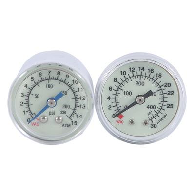 医用球囊压力泵专用医用压力表Y40Z 0-15atm 0-30atm 夜光压力表