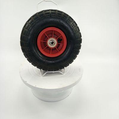 青岛工厂长期供应10寸防滑耐磨防震3.00-4大花花纹天然橡胶充气轮