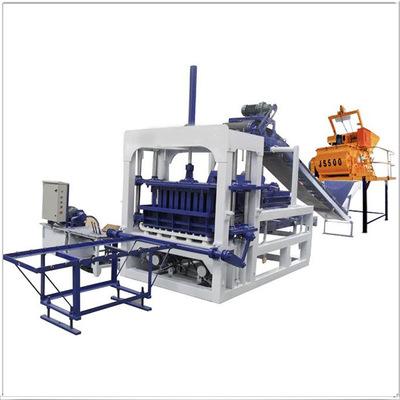 6-15水泥制免烧砖机 大型实心水泥砖机 全自动液压空心砖机