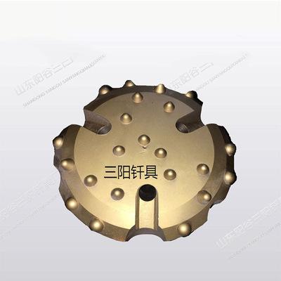 履带式潜孔钻机配件140潜孔钻头及110A冲击器 旋挖钻机齿