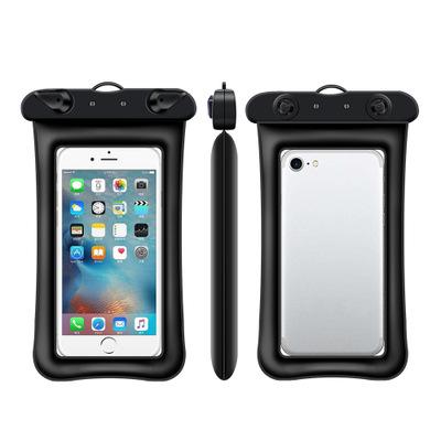 漂浮气囊充气手机防水袋新款触屏游泳透明防水手机袋手机防水套