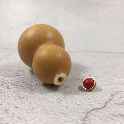 葫芦纯铜镶口开盖葫芦手把件手捻小葫芦随身迷你精品小葫芦