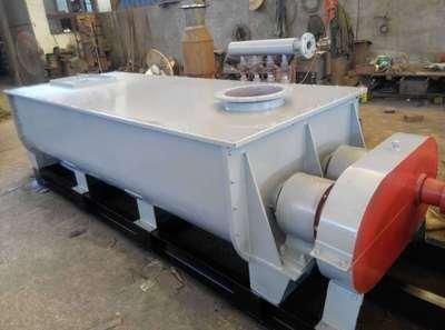 上海曼大双轴加湿搅拌机智能高效 无扬尘是环保必备设备
