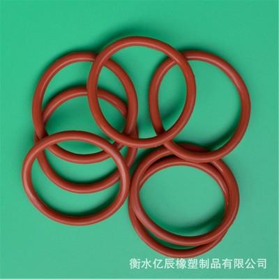 厂家现货硅胶圈 耐高温O型密封圈 橡胶密封垫圈 来图