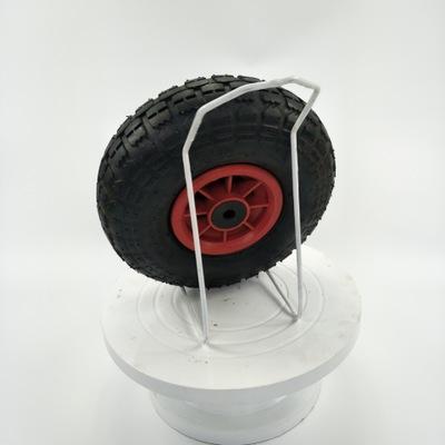 青岛工厂长期供应10寸防滑耐磨防震3.50-4大花花纹天然橡胶充气轮