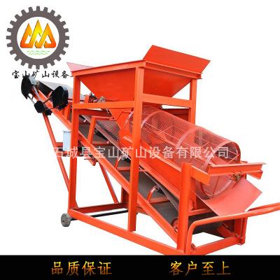 螺旋洗砂筛沙一体机 滚筒筛沙机矿用洗砂设备 工地制砂筛沙生产线