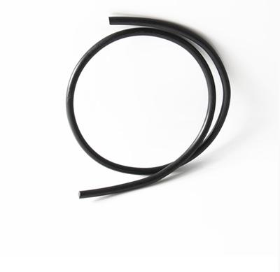 橡胶密封条 黑色实心圆条 丁晴耐油橡胶条 NBR橡胶O型条2-30mm