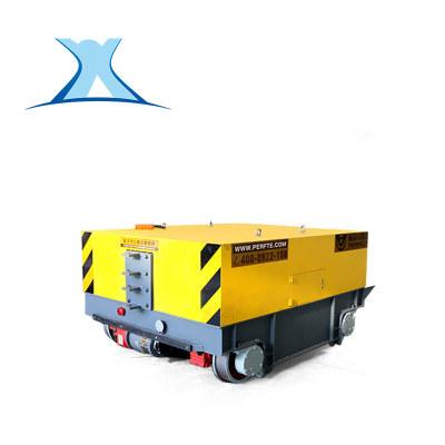 定制电动平车遥控蓄电池平板搬运车地爬车电动平板车轨道牵引车
