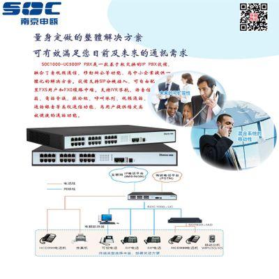 申瓯数字IP软交换程控电话交换机SOC1000-UC500电话交换机