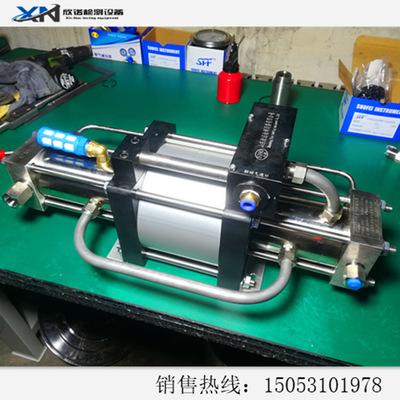 厂家供应气体往复泵 活塞式高压防爆质保一年 山东欣诺气动增压机