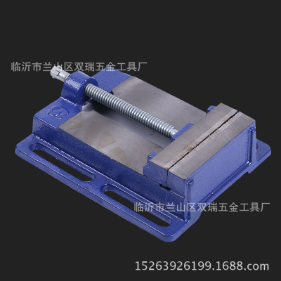 厂家直销美式平口钳简易钻床夹具简易机用台虎钳机用平口钳批发