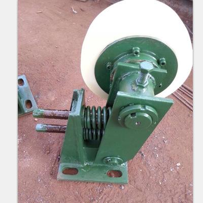 厂家批发 滚轮灌耳L20 罐笼罐耳双轮 耐磨聚氨酯滚轮 厂家直供