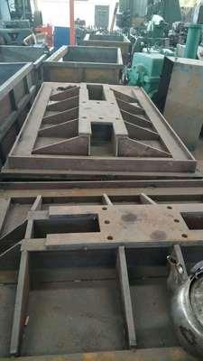 韶关厂家定制振动台板铸钢铸铁非标件球墨铸铁机加工来图加工