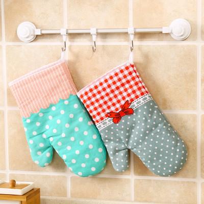 家用防烫加厚烤箱手套厨房大号烘焙耐高温隔热微波炉专用防护手套