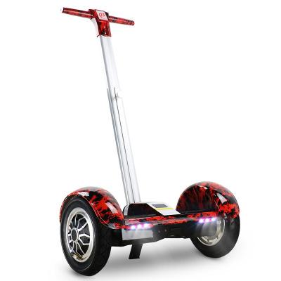 平衡车电动车成人儿童双轮带扶杆代步车